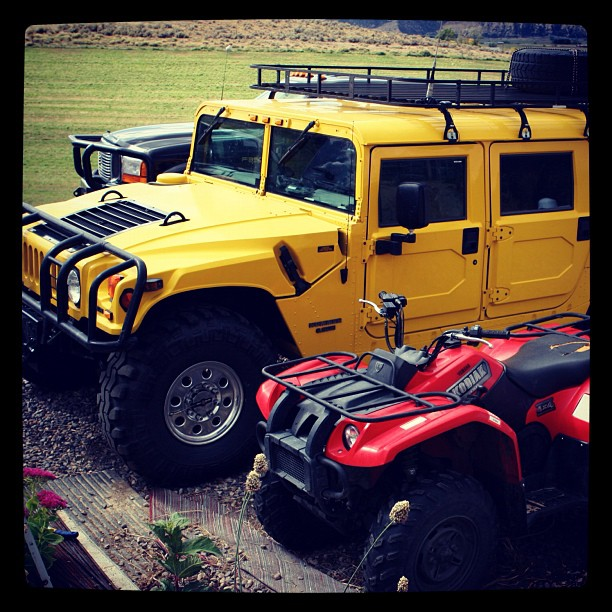 Ran across an old photo of my Hummer H1. What a beast.