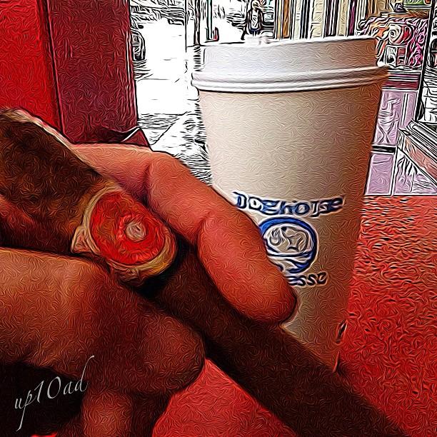 Relax. #cigar #espresso
