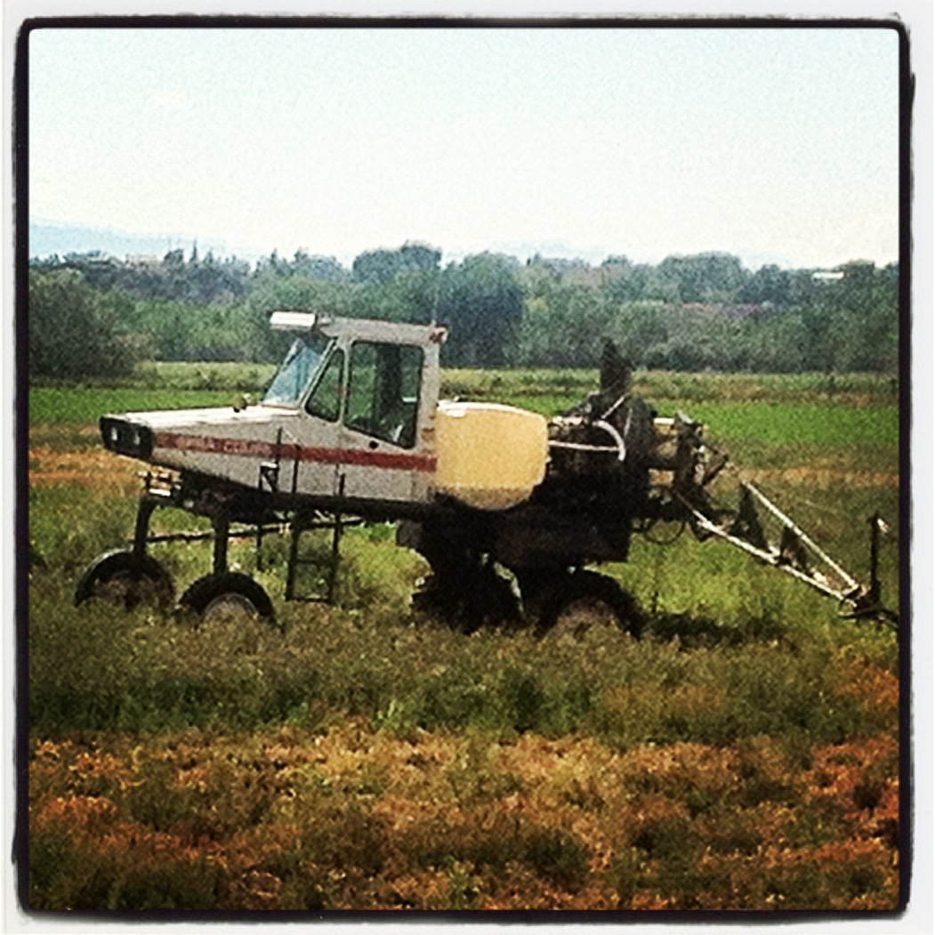 Airplane or crop sprayer?