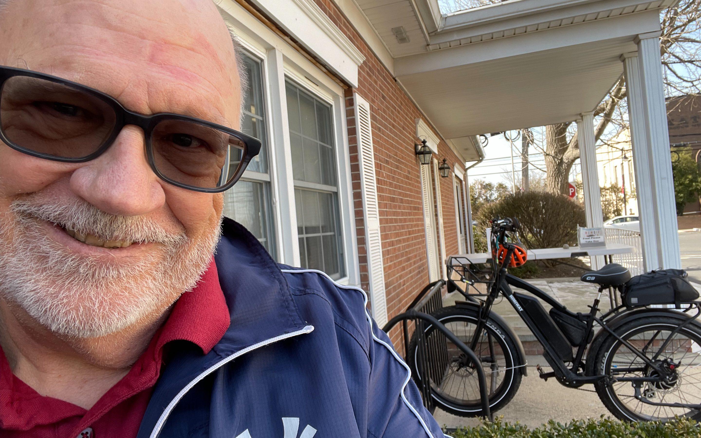 Rode my bike to Work!